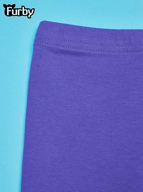 Fioletowe legginsy dla dziewczynki FURBY                                  zdj.                                  3