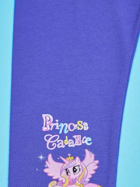 Fioletowe legginsy dla dziewczynki MY LITTLE PONY                                  zdj.                                  4