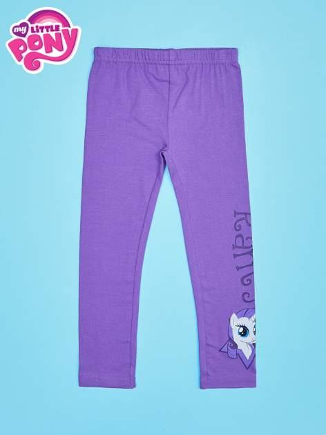 Fioletowe legginsy dla dziewczynki motyw MY LITTLE PONY