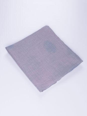 Fioletowo-granatowa chusta z efektem ombre                                  zdj.                                  2