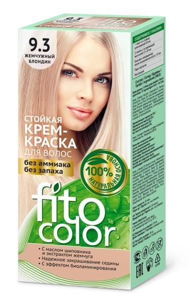 Fitocosmetics Fitocolor Naturalna Farba-krem do włosów nr 9.3 perłowy blond