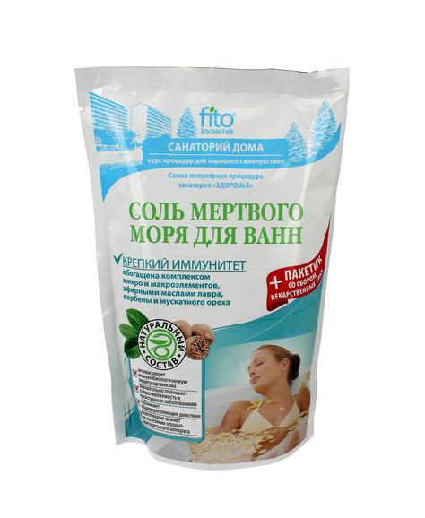 Fitocosmetics Sól do kąpieli Ilecka naturalna antystresowa 530 g