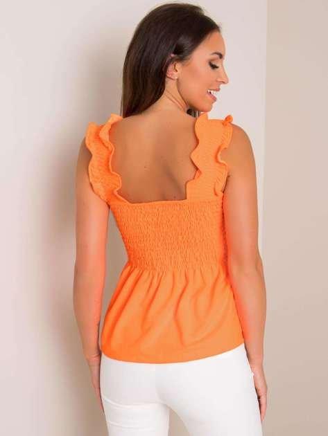 Fluo pomarańczowa bluzka Izzy RUE PARIS