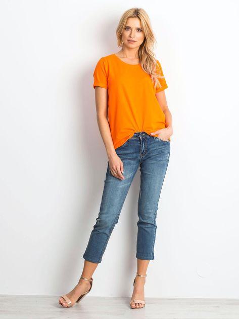 Fluo pomarańczowy t-shirt Transformative                              zdj.                              4