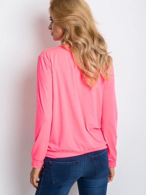 Fluo różowa bluza Palma                              zdj.                              2