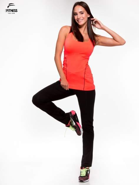Fluoróżowy termoaktywny top sportowy z siatczką z tyłu ♦ Performance RUN                                  zdj.                                  5