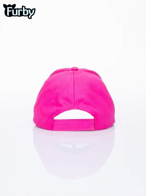 Fuksjowa czapka z daszkiem dla dziewczynki FURBY                                  zdj.                                  3