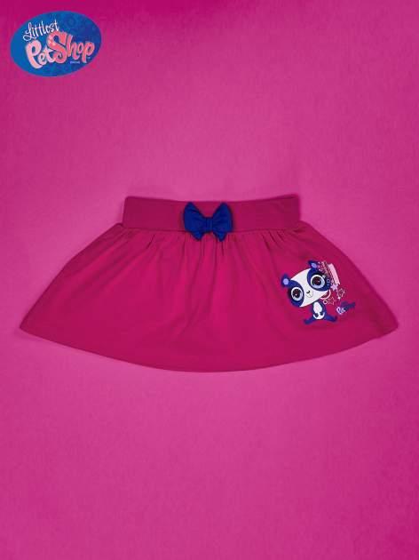 Fuksjowa spódnica dla dziewczynki LITTLEST PET SHOP