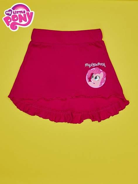 Fuksjowa spódnica z falbanami dla dziewczynki MY LITTLE PONY