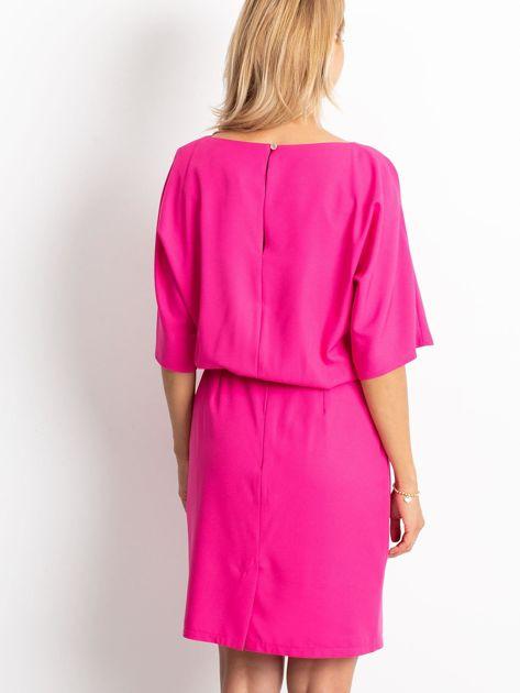 Fuksjowa sukienka Soft                              zdj.                              2