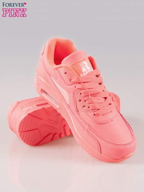 Fuksjowe buty sportowe z poduszką powietrzną w pięcie                                  zdj.                                  4
