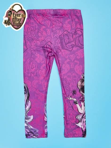 Fuksjowe legginsy dla dziewczynki EVER AFTER HIGH                                  zdj.                                  2