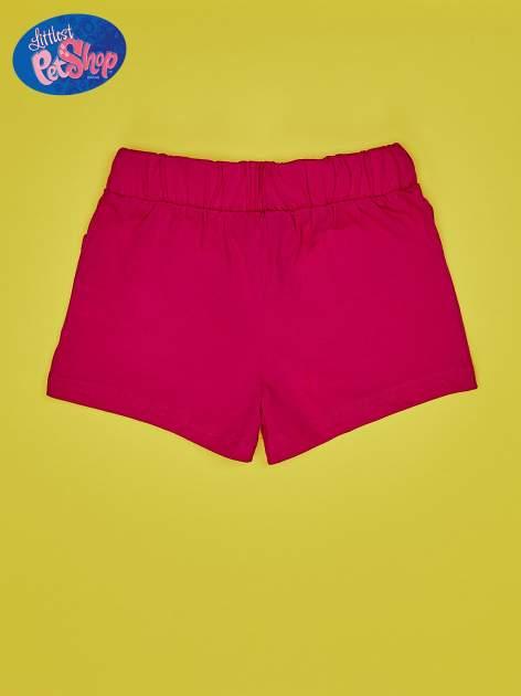 Fuksjowe szorty dla dziewczynki LITTLEST PET SHOP                                  zdj.                                  2