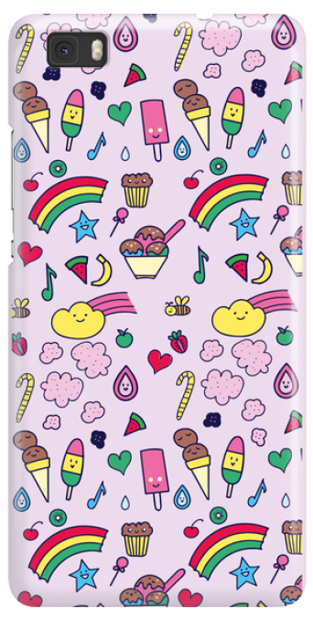 Funny Case ETUI HUAWEI P8 LITE SWEETS