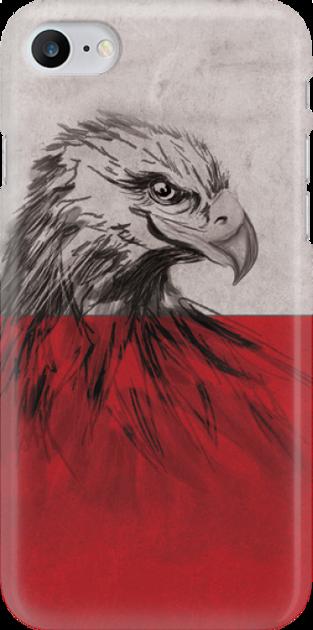 Funny Case ETUI IPHONE 7 EAGLE