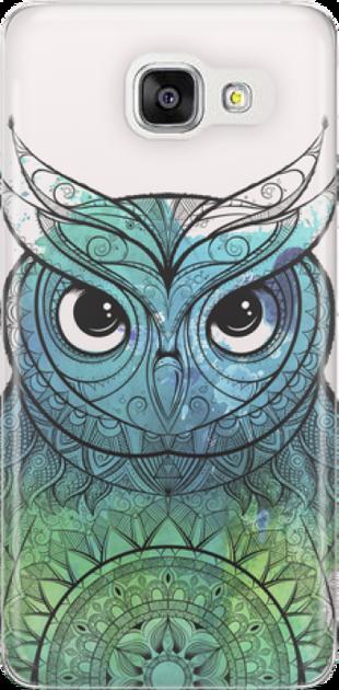 Funny Case ETUI SAMSUNG A5 2016 OWL