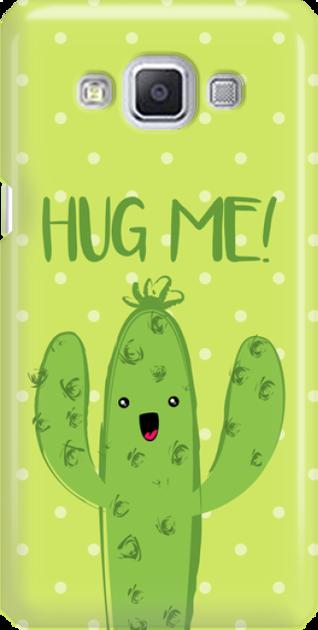 Funny Case ETUI SAMSUNG A5 CACTUS HUG ME