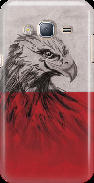 Funny Case ETUI SAMSUNG J3 2016 EAGLE
