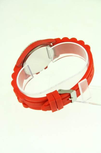 GENEVA Czerwony zegarek damski na silikonowym pasku                                  zdj.                                  3