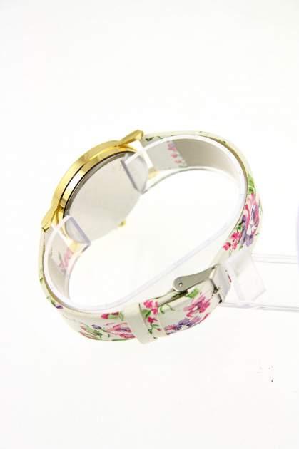 GENEVA Wielokolorowy zegarek damski w stylu retro na skórzanym pasku                                  zdj.                                  3