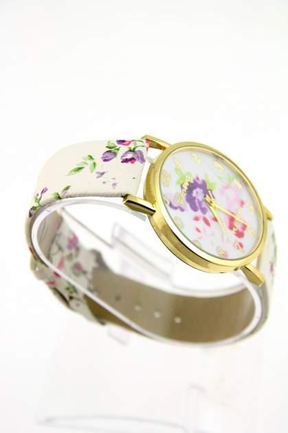GENEVA Wielokolorowy zegarek damski w stylu retro na skórzanym pasku                                  zdj.                                  2