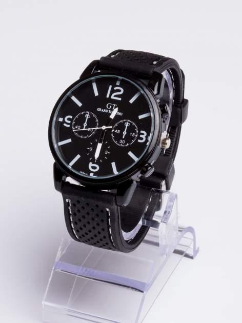 GT Świetny sportowy zegarek na wygodnym silikonowym pasku                                  zdj.                                  3
