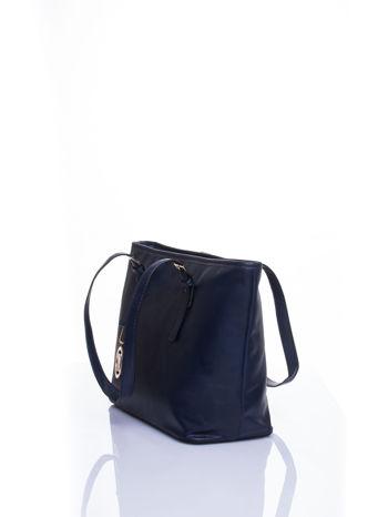 Ganatowa torba shopper bag z regulowanymi rączkami                                  zdj.                                  4
