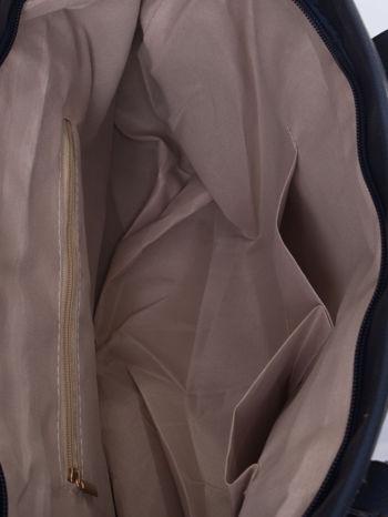 Ganatowa torba shopper bag z regulowanymi rączkami                                  zdj.                                  5