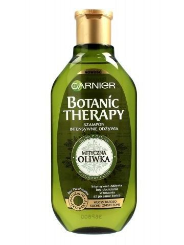 Garnier Botanic Therapy Szampon do włosów bardzo suchych i zniszczonych Mityczna Oliwka  250 ml