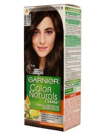 Garnier Color Naturals Krem koloryzujący nr 5.00 Głęboki Średni Brąz