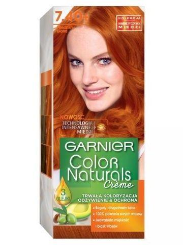 Garnier Color Naturals Krem koloryzujący nr 7.40 Miedziany Blond