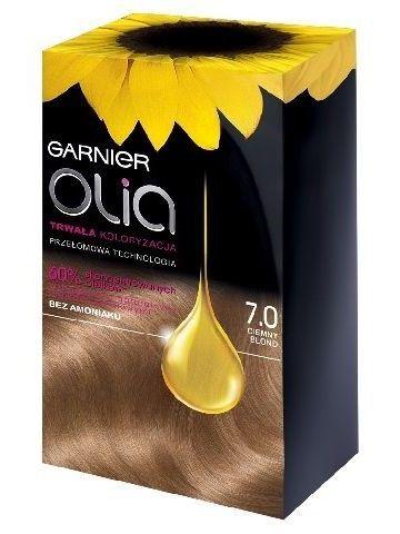Garnier Olia Farba do włosów nr 7.0 Ciemny Blond