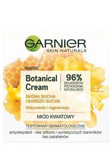 Garnier Skin Naturals Botanical Krem odżywczo-regenerujący Flower Honey  50 ml