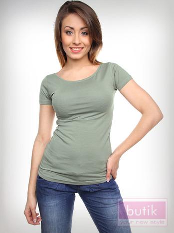 Gładki t-shirt                                  zdj.                                  2