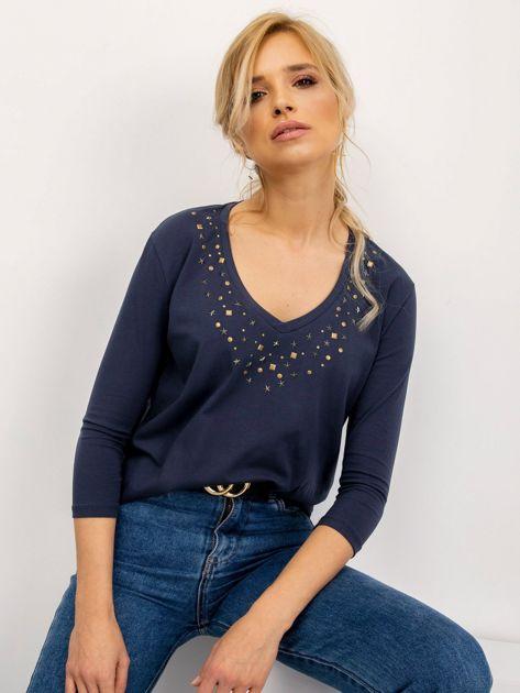 Grafitowa bluzka Scarlett