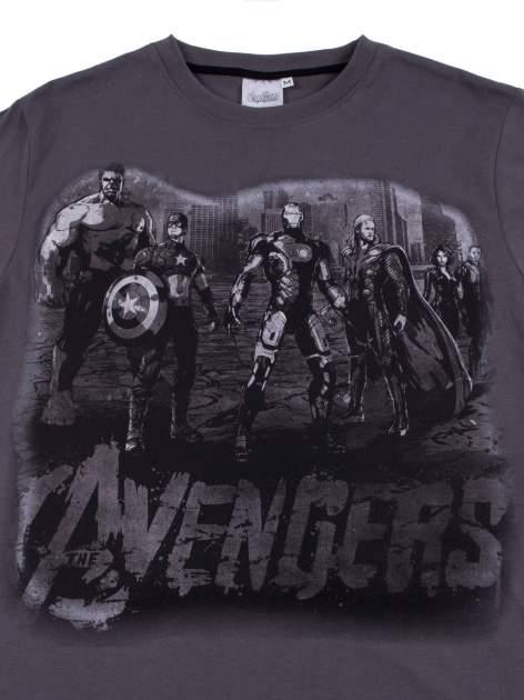 Grafitowy t-shirt męski AVENGERS                                  zdj.                                  10