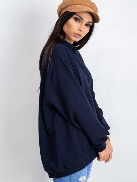 Granatowa bluza Twist                              zdj.                              7