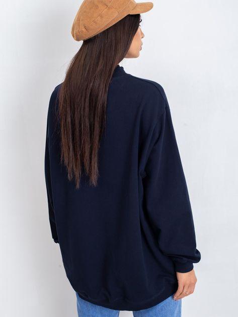 Granatowa bluza Twist                              zdj.                              2