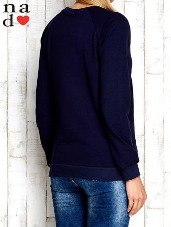Granatowa bluza z cyfrą 27                                  zdj.                                  2