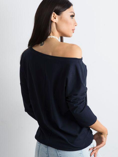 Granatowa bluzka Fiona                              zdj.                              2