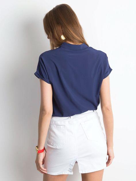 ea48ad6c9e Granatowa bluzka Moonlight - Bluzka na co dzień - sklep eButik.pl