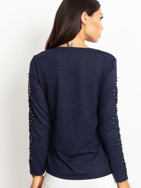 Granatowa bluzka Stella                              zdj.                              2