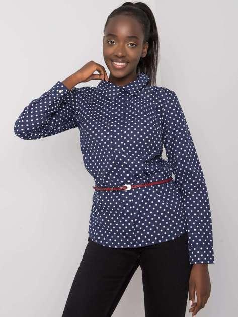 Granatowa bluzka koszulowa Journey
