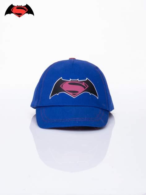 Granatowa chłopięca czapka z daszkiem BATMAN V SUPERMAN