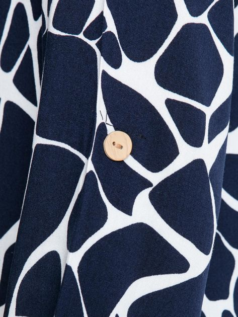 Granatowa koszula Rowland                              zdj.                              6