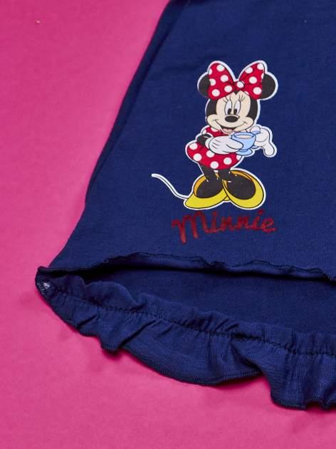 Granatowa spódnica dla dziewczynki MINNIE MOUSE                                  zdj.                                  3