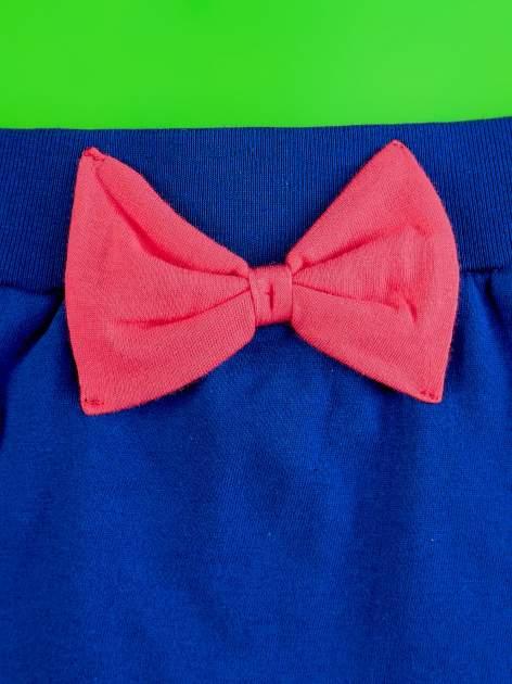 Granatowa spódnica dla dziewczynki z falbanami MINNIE MOUSE                                  zdj.                                  3