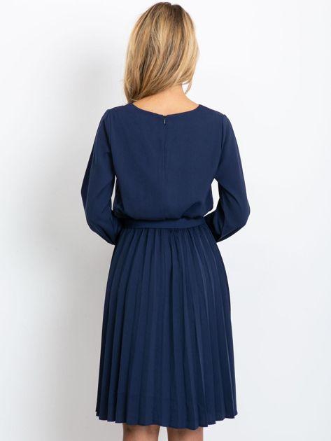 Granatowa sukienka Dakota                              zdj.                              2