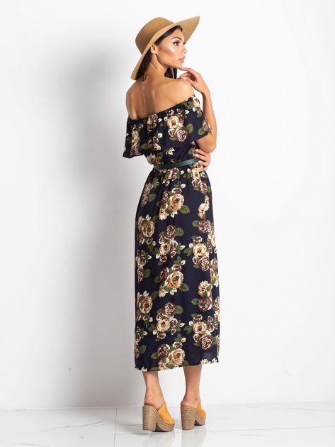 Granatowa sukienka Excellent                              zdj.                              2
