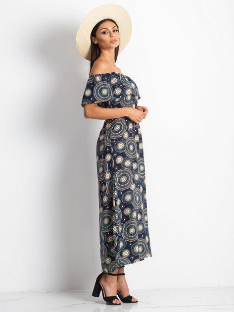 Granatowa sukienka Faraway                              zdj.                              3